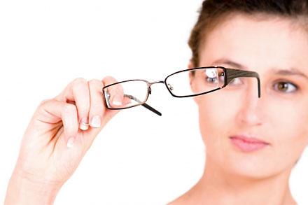glasögon och linser